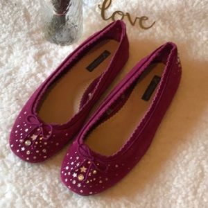 American Eagle Outfitters Leather Ballet Flats